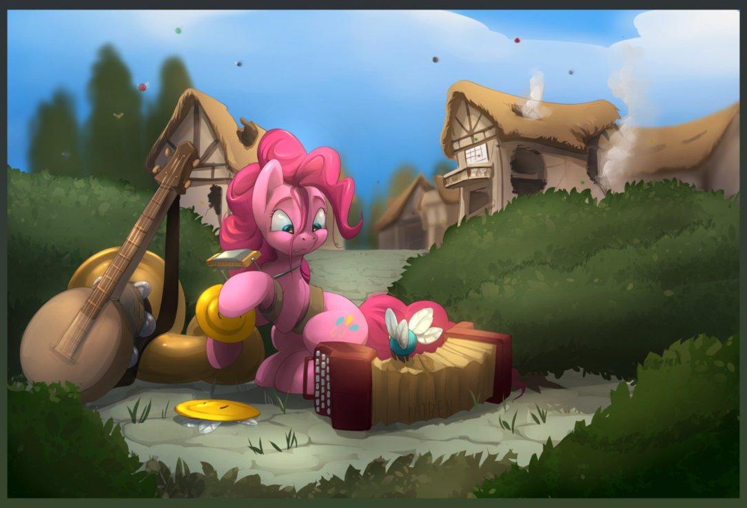 Пинки Пай Ловит Шарики (Pony Pinkie's Balloon Patrol)