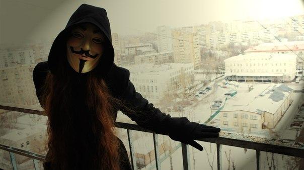 картинки в масках на аву девушки