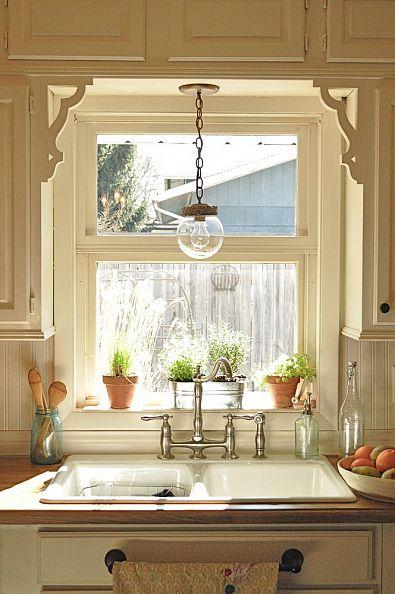 Contemporary kitchen curtain ideas