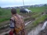 Subaru Outback off-road (Субару Аутбек 4х4) & Lada 4x4 (Ваз 4х4)