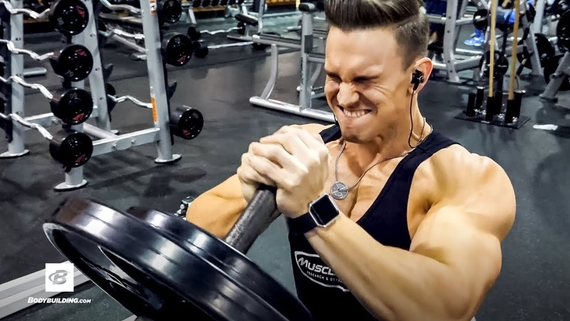 Abel Albonetti's Killer Upper Chest Workout | Raw