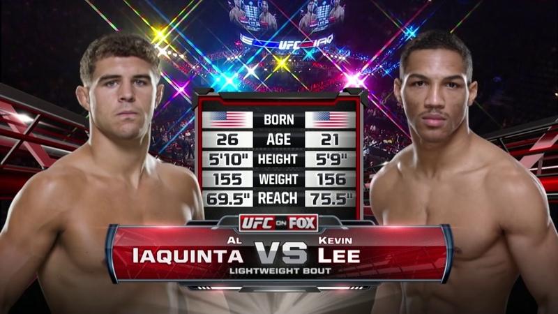 Fight Night Milwaukee Free Fight: Al Iaquinta vs Kevin Lee 1