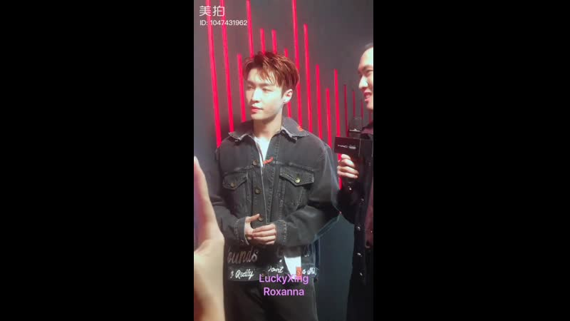 190322 ZHANG YIXING 张艺兴 — MAC Lip Color Live Broadcast_fancam cr. 越努力越幸运662015