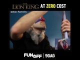 The Lion King at zero cost