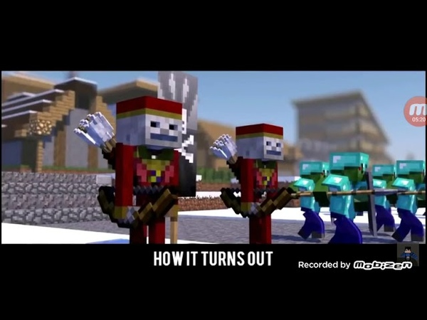 Minecraft bizim hikaye çağatay akman versiyon