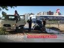 Машина провалилась под землю на улице Пугачева в Вологде