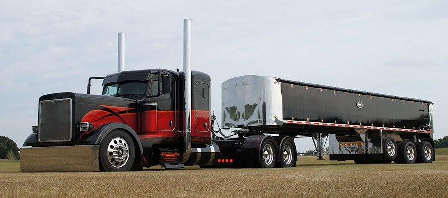 Американский тюнингованный грузовик