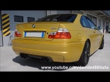 BMW M3 E46 w/ Supersprint exhaust - POWERSLIDES!
