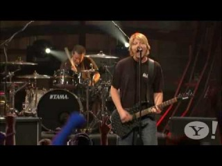 The Offspring - Self Esteem live Yahoo 2008