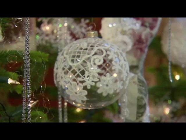 Maja w ogrodzie - Koronkowe bombki - Zobacz jak zrobić samemu (wydanie świąteczne). Odc. 527