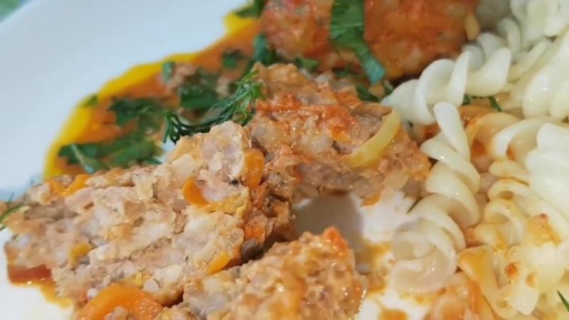 Тефтели в сметанно томатном соусе цыганка готовит Gipsy cuisine