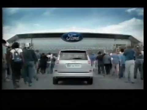Reklama Ford C max Ford sponsor Ligi mistrzów 2005 Polska