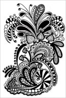 Zentangle. #zentangle explore Pinterest.  Еще от Пинера indulgy.com.