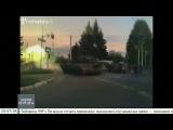 Танки ведут огонь по сепаратистам у Краматорску