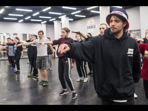 LIVE Popping Workshop with Greenteck Red Bull Dance Connect