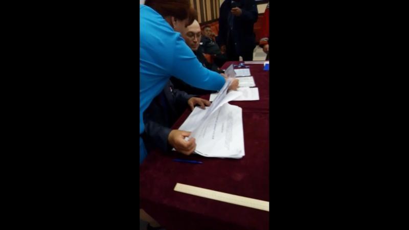 Вот вам и выборы Ямальского района вот всегда так голосует КМНС