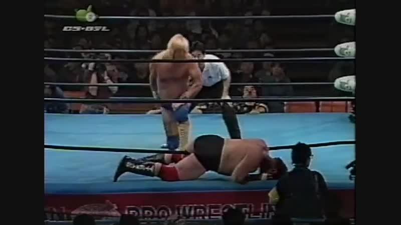 1997.03.30 - Stan Hansen vs. Johnny Ace