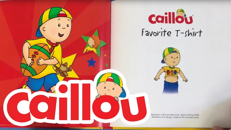 Caillou Books: The Favourite T-shirt