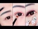 Hướng dẫn kẻ mắt - kẻ chân mày 🌺 Easy Eyeliner and Eyebrow Tutorial For Beginners ❤️ Part 4
