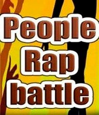 People rap battle