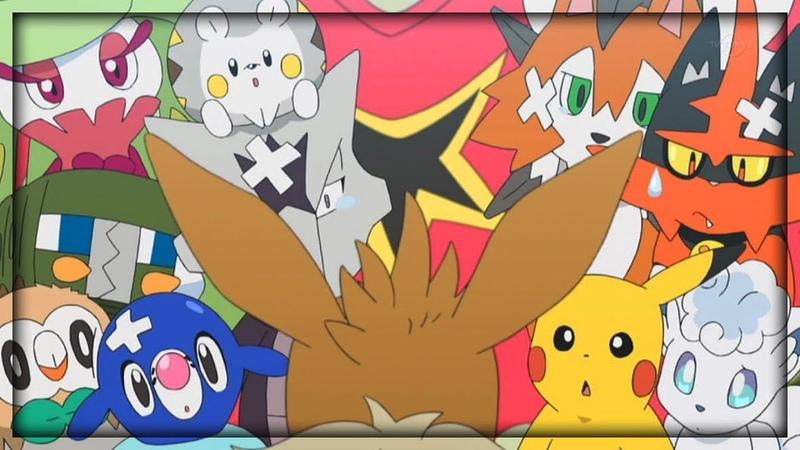 Eevee Segment 5 - Eevee, Where Are You Going? - Pokemon Sun and Moon Episode 97 (HD)