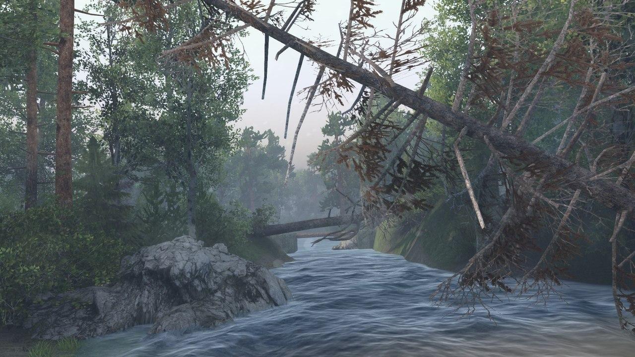 """Карта """"Сельхоз v1"""" для 23.10.15 & 8.11.15 для Spintires - Скриншот 2"""