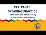 PET Speaking part 1 (Maria Joao-Pedro Nuno)