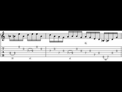 Open String Licks - Part Two. Free country guitar-lesson!