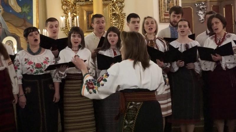 Дзвони б'ють, Дзвони грають - коляда - Молодіжний хор Собору Св.Юра, м.Львів