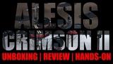 Alesis Crimson II - Unboxing Hands-On Primeiras Impress