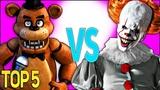 СБОРНИК 5 НОЧЕЙ С ФРЕДДИ РЭП ( ТОП 5 ) Five Nights At Freddy's Rap Song Compilation