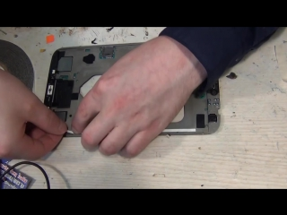 Планшет Samsung galaxy tab 3 t311 разбор и замена дисплейного модуля , дисплея,стекла,ремонт
