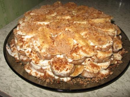 Торт без выпеки фото