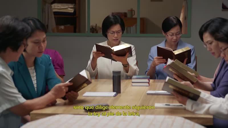 Escenas de película evangélica La verdad revelada de la oposición de los fariseos a Dios