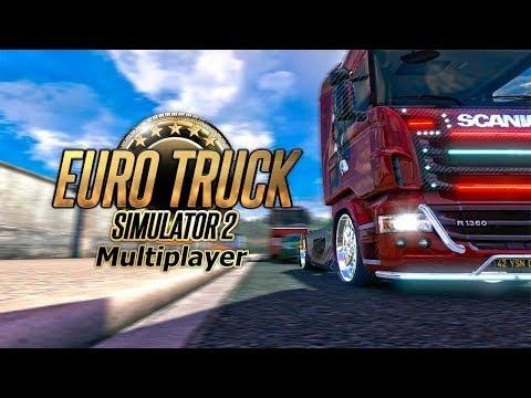 Euro Truck Simulator 2 multiplayer stream Праздничный конвой в честь Дня рождения коллеги