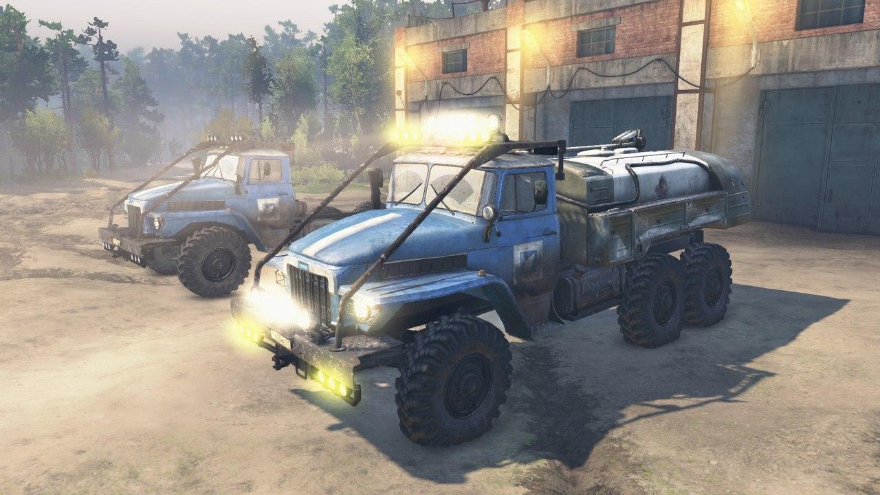 Урал 375 для 23.10.15 и 08.11.15 для Spintires - Скриншот 2
