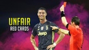 Unfair Red Cards and Referee Decisions 2018/19