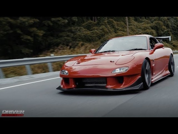 1992 Red Mazda RE Amemiya FD3S Efini RX-7 from Driver Motorsports