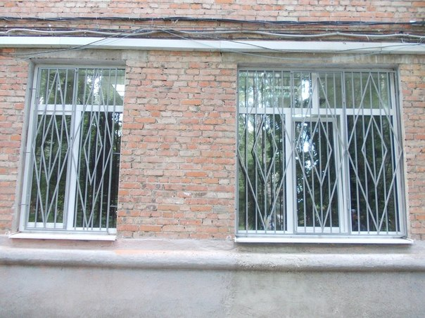 Решетки на окна из арматуры