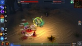 Eternium Mage And Minions IOS Android gameplay HD - Trial Of sand - Mage warrior