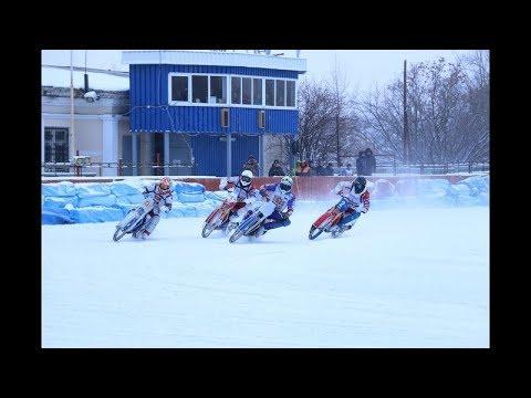 Чемпионат России. Гонки на льду - 500 см3.Полуфинал 15 декабря