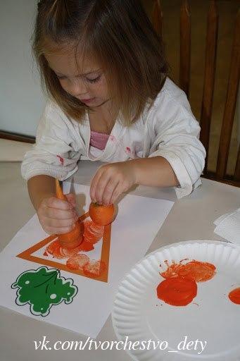 Творчество для малышей.