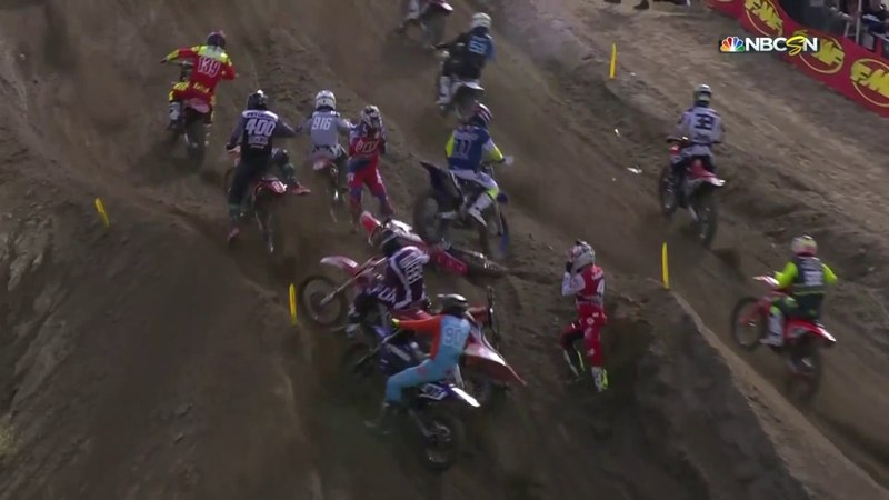 Glen Helen 450 Moto 2: Anderson uses holeshot to take lead