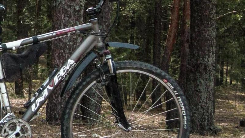 Ставим на гибридный велосипед более широкую шину