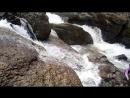 Водопад Кук Караук. Вид сбоку. )