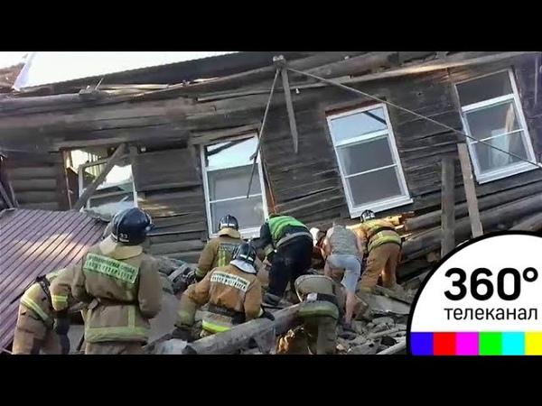 Взрыв в частном доме в Петербурге: погибли два человека