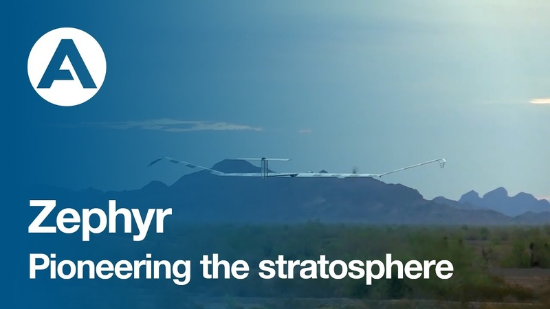 Zephyr, pioneering the stratosphere