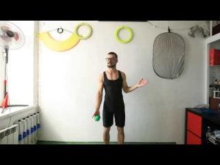 #47.1.2.Упражнение Ямамура I видео уроки по жонглированию от ПГ