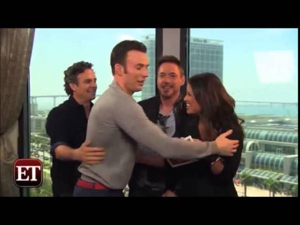 The Avengers Hilarious Cast Moments Compilation 2