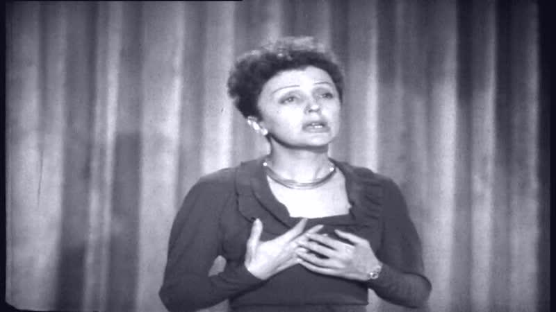 Edith Piaf — Bals Dans Ma Rue = LHymne A La Mome
